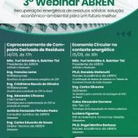 3. WEBINAR ABREN - RECUPERAÇÃO ENERGÉTICA DE RESÍDUOS SÓLIDOS: SOLUÇÃO ECONÔMICO-AMBIENTAL PARA UM FUTURO MELHOR
