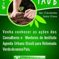 23/12 WEBINAR SOBRE 'RETOMADA VERDE'  DO IAUB