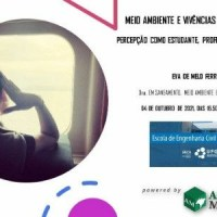 Palestra ONLINE   GRATUITA:  Meio ambiente e vivências internacionais - percepção de uma brasileira como estudante, profissional e ser humano
