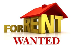 For Rent Wanted