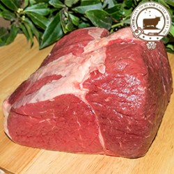 Quarter meat cut of Highland beef steer - meat package