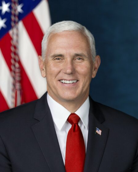 """The reporter asked Pence """"Are you worried about the violence (inauguration day)"""" Pence did not answer."""