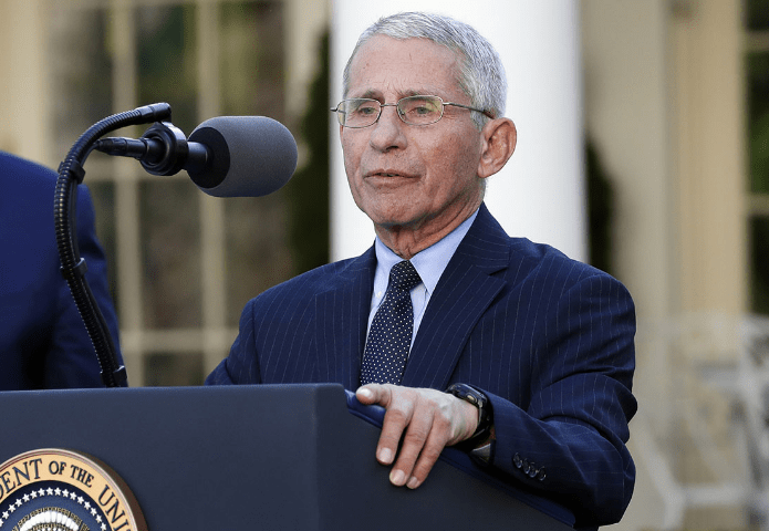 Fauci has a new position, but media are still worried about it
