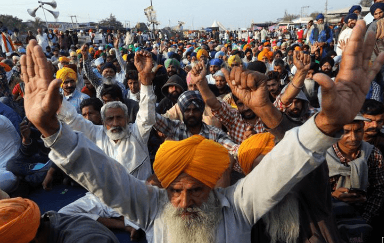 A priest in India shot and committed suicide leaving last words called farmers protested and dedicated
