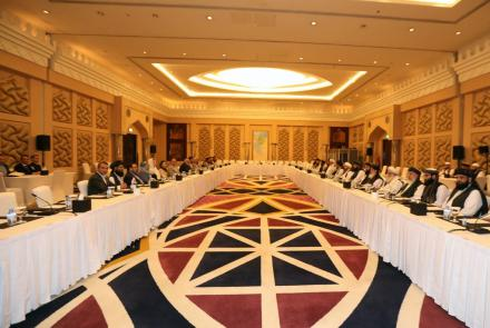 """The Afghan government and the Taliban have a """"breakthrough"""" in peace talks."""