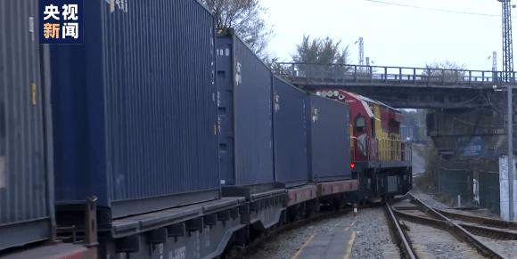 "From Qinba Mountain to Europe: China-Europe train ""Anxio"" debuts"