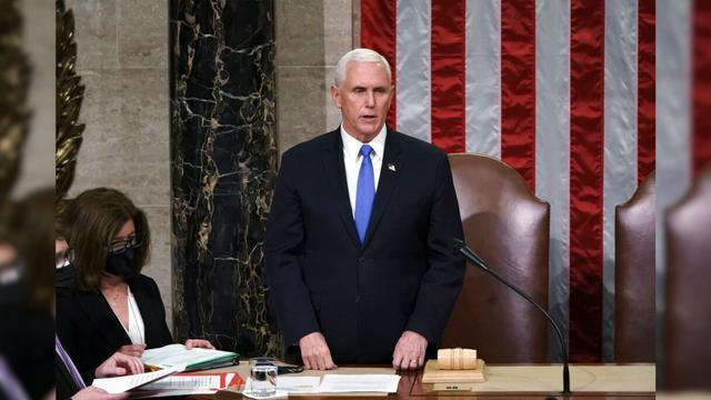 U.S. Vice President Pence's last week before leaving office: Thank the White House staff and congratulate Harris