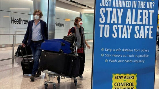 The UK will implement mandatory quarantine measures from February 15th.