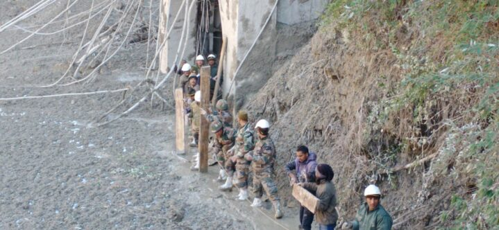 The dam break accident in Uttarakhand, India, has killed 10 people and more than 100 people have disappeared.