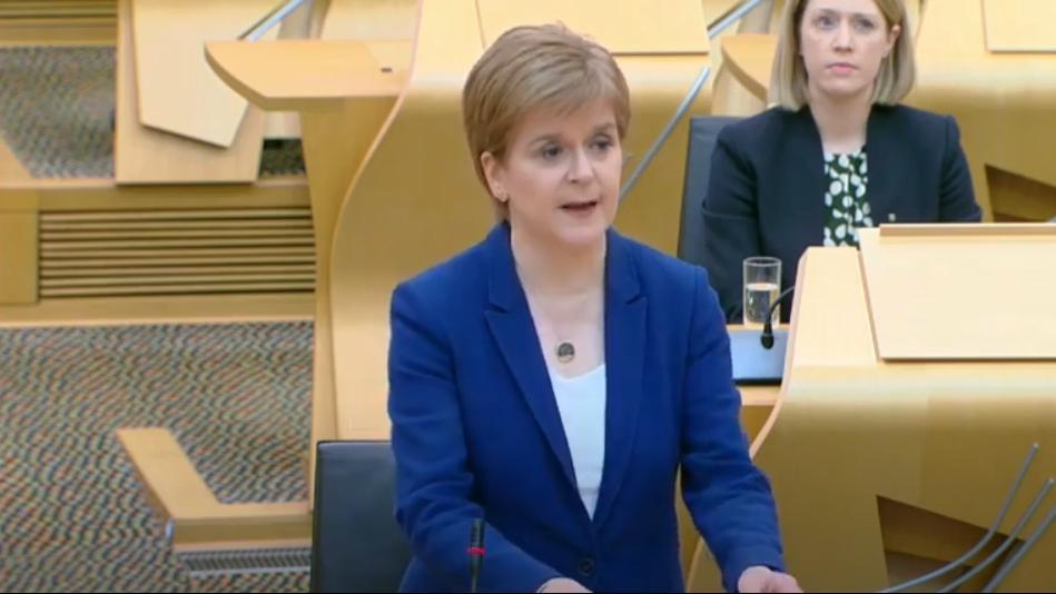 The Scottish region of the United Kingdom will gradually allow students to return to school.