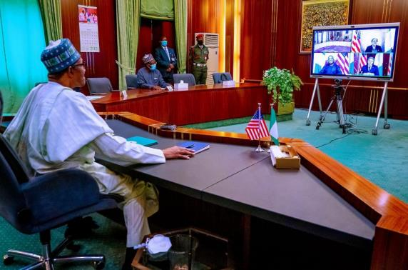 U.S. Secretary of State 'virtual visit' To Nigeria President Nigeria urges U.S. Africa Command to move from Germany to Africa