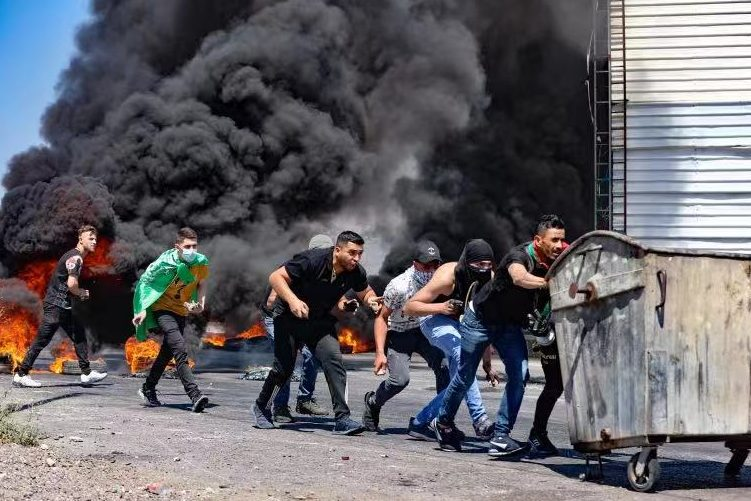 Ten Palestinians were killed by Israeli forces in the West Bank