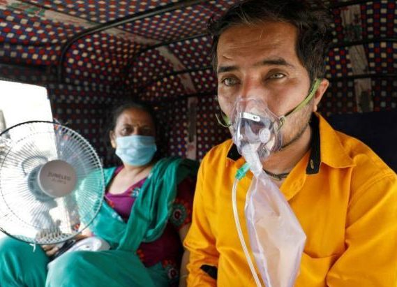 India's Coronavirus confirmed cases are approaching a peak of 20 million cases or ahead of schedule