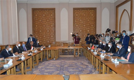 Egypt and Turkey held their first formal consultations on restoring diplomatic relations at the ambassadorial level