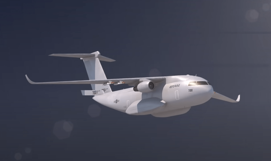South Korea to build a domestic transport aircraft, can carry missiles