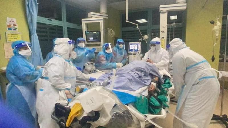 Malaysia's intensive care units are under pressure at full capacity