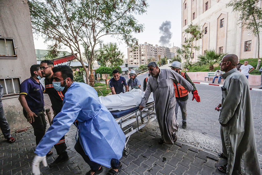 Gaza in the Israeli-Palestinian conflict: Pregnant mother killed with child, hospital nears collapse