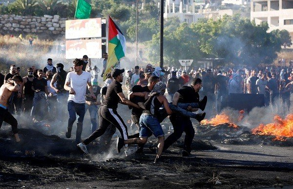 Clashes between Palestinians and Israeli military and police in the West Bank have left four people dead