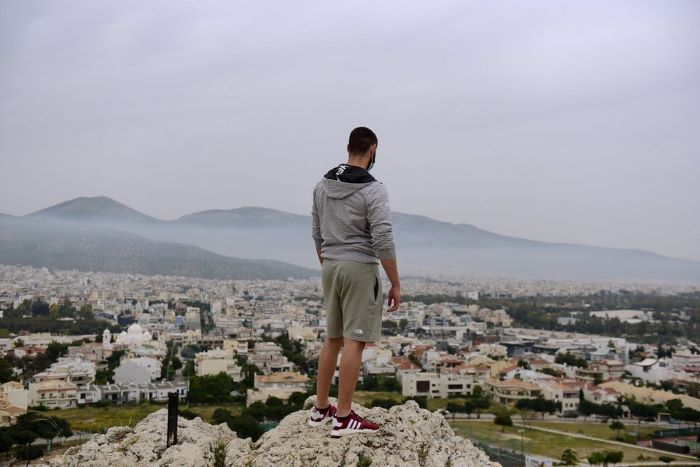 Sahara dust interacts with holiday smoke Athens, Greece, was shrouded in smog for more than 10 hours