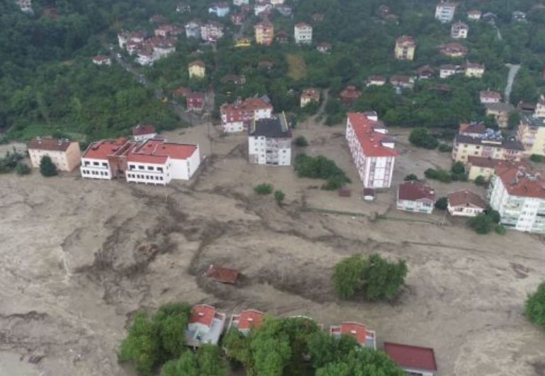 Floods in northern Turkey have killed 27 people and destroyed homes and bridges