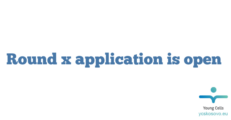 Round x application is open