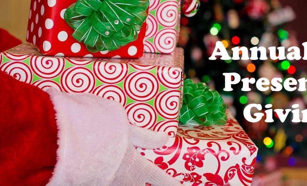 Annual Christmas Present Giving