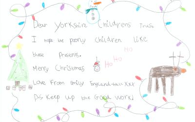 Emily is on Santa's Nice List :-)