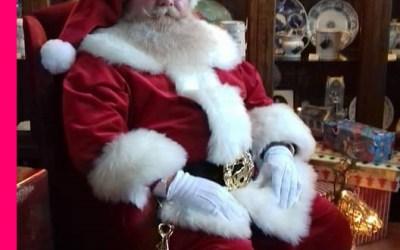 Santa Blake Spreads Christmas Cheer