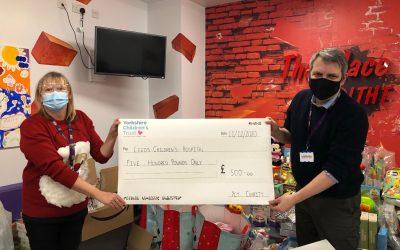 Leeds Children's Hospital Donation