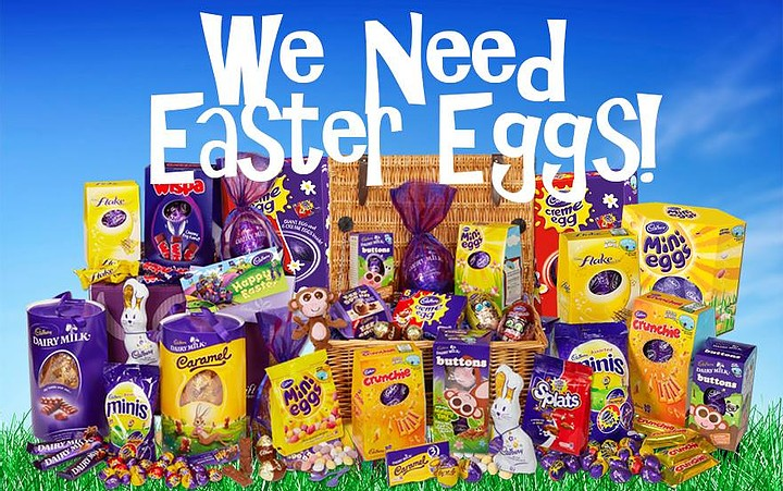 Donate Easter Eggs to the charity