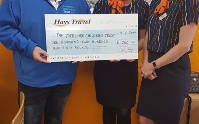 1940's weekend raised £1260 with Hays