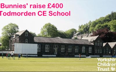 Bunnies tower raises £400