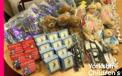 Wilby Ltd help Santa with Gifts