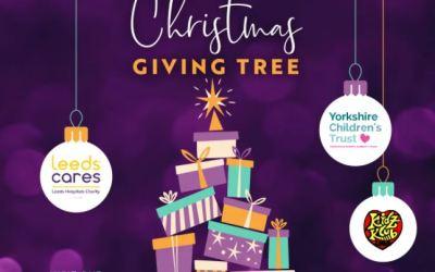 Birstall Shopping Park's Virtual Giving Tree