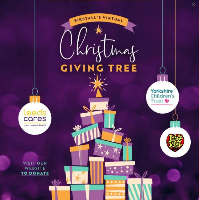 Virtual Giving Tree at Birstall