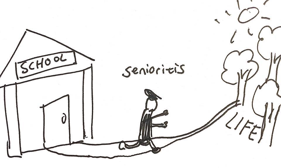 Senioritis A Real Disease  The Thots