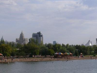 Astanan kaupunkikuvaa.
