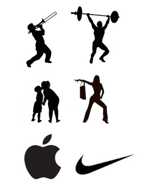 drawing silhouettes silhouette artist extraneous simple communication examples ydraw clear logos sihouettes