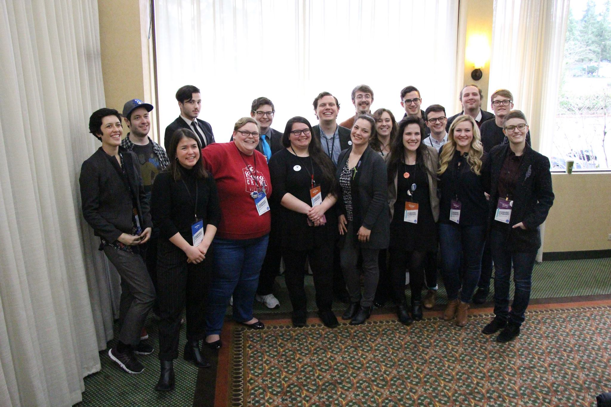 The newly-elected 2018 YDWA Executive Board