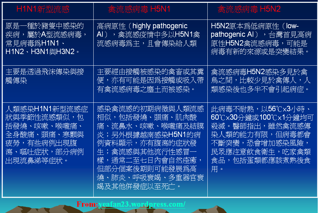 H5N2禽流感拉警報~2012/3/5 | 雅~真愛的意義