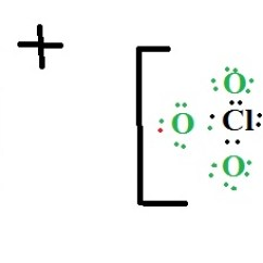 Ionic Bond Dot Diagram Freightliner Electrical Wiring Lewis Electron Structure For Kclo4 | Yeah Chemistry
