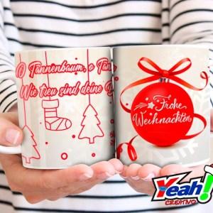 Taza Fröhliche Weihnachten