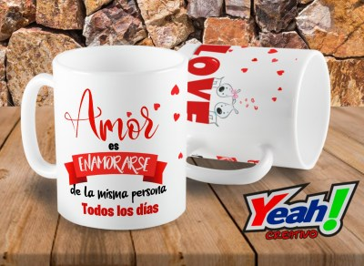 taza San Valentín amor love