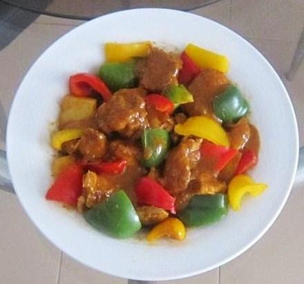 (2)-Capsicum Rendang Chicken