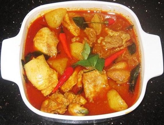 (5) Spicy Chicken Curry Recipe