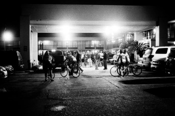 The Gran Fondo starts it off in the wee hours.