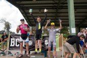 Cat 4/5 Podium. David Hall (5th Floor NYC), Michael Kuehnel (Sugar Cycles) and Robinson Sudan (Rouler Racing)