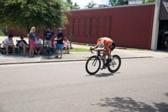 The lookback. Benie Flores on his way to the break.