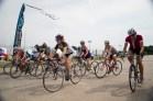 The Women's race gets underway.