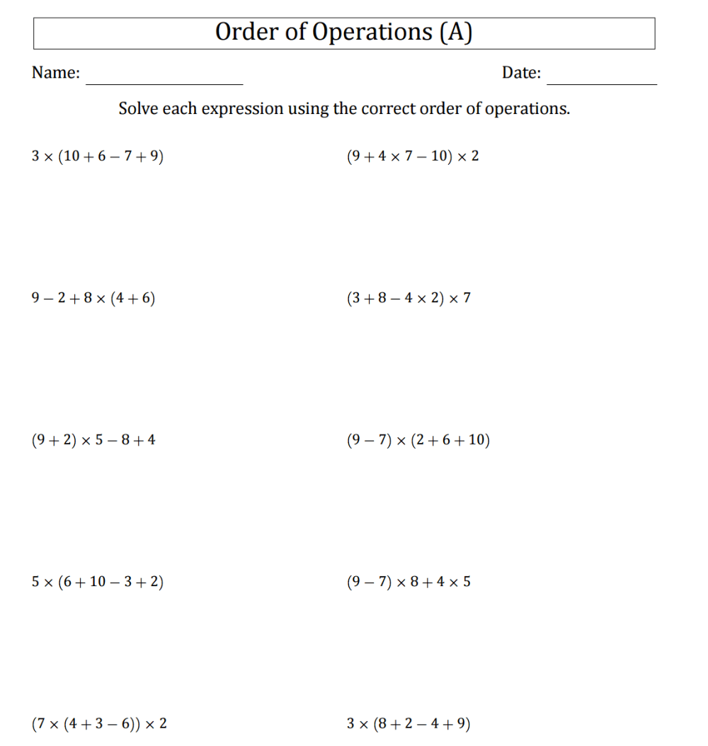 medium resolution of Broken Calculator Worksheet   Printable Worksheets and Activities for  Teachers